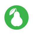 pear sign vector image