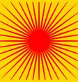 radiating lines starburst pattern radial rays vector image