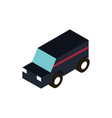 transport suv utility vehicle isometric icon vector image