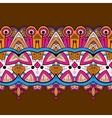 Horizontal lace steampunk ornament ornamental vector image