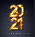 2021 happy new year happy new year banner vector image vector image