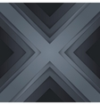 Abstract grey paper triangle shapes background vector image vector image