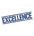 excellence stamp vector image vector image