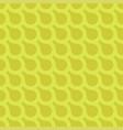 green seamless geometric pattern - creative vector image vector image