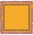 Ornate damask background vector image vector image