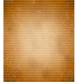 Rugged cardboard background vector image vector image