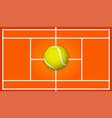 tennis2 vector image vector image