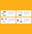 business handshake marketing meeting vector image vector image