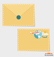 Envelope Business working elements for web design vector image vector image