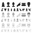 skin care cartoon icons in set collection for vector image vector image