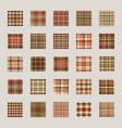 christmas pattern seamless check plaid fabric vector image vector image