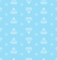 diamond background vector image
