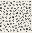 hand drawn pattern seamless vector image vector image