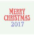 handwritten text merry christmas vector image vector image