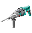 rotary hammer vector image vector image