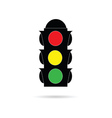 traffic light color vector image vector image