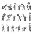 business figures simple stick characters