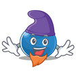 elf blueberry character cartoon style vector image