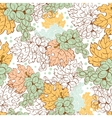 Fall Grapes Harvest Seamless Pattern Wine vector image