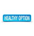 healthy option vector image