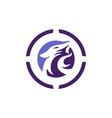 jaguar abstract logo concept icon vector image