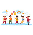 kindergarten concept vector image