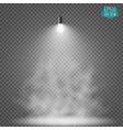 light bulb illuminated realistic vector image