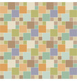 seamless pattern brick tile pinwheel vector image vector image