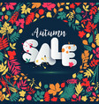 text sale in paper style on multicolor background vector image vector image