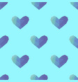 triangle heart seamless pattern backgrounds vector image vector image