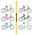 Womens Bike One vector image