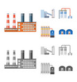 design of production and structure icon vector image