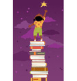 Importance of reading for children development vector image