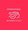 International womens day banner