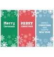 Multicolored Christmas Card vector image