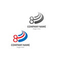 number 8 logo business template