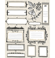 Set of special hand draw labels and banners vector image vector image