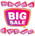 3D big Sale tags EPS8 vector image