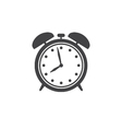 Alarm clock icon isolated vector image vector image