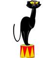 circus panther vector image