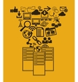 data center related icons image vector image vector image