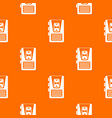 dictaphone pattern seamless vector image vector image