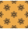 Endless elegant Ornamental stylized flower pattern vector image vector image