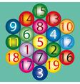 Magic Hexagon vector image vector image