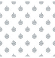 modern christmas ball pattern seamless vector image vector image