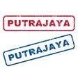 Putrajaya Rubber Stamps vector image vector image