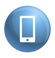 smartphone icon simple style vector image vector image
