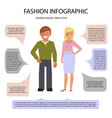 business cusual dress style vector image vector image