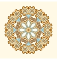 Circle lace steampunk ornament round ornamental vector image vector image