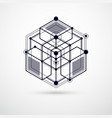 engineering technology black and white wallpaper vector image vector image